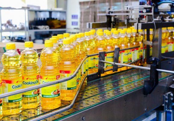 sản xuất dầu thực vật
